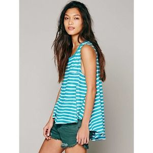 Free People We The Free Striped Tank Size XS/S
